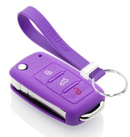 TBU car Audi Funda Carcasa llave - Violeta