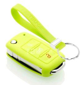 TBU car Skoda Sleutel Cover - Lime groen