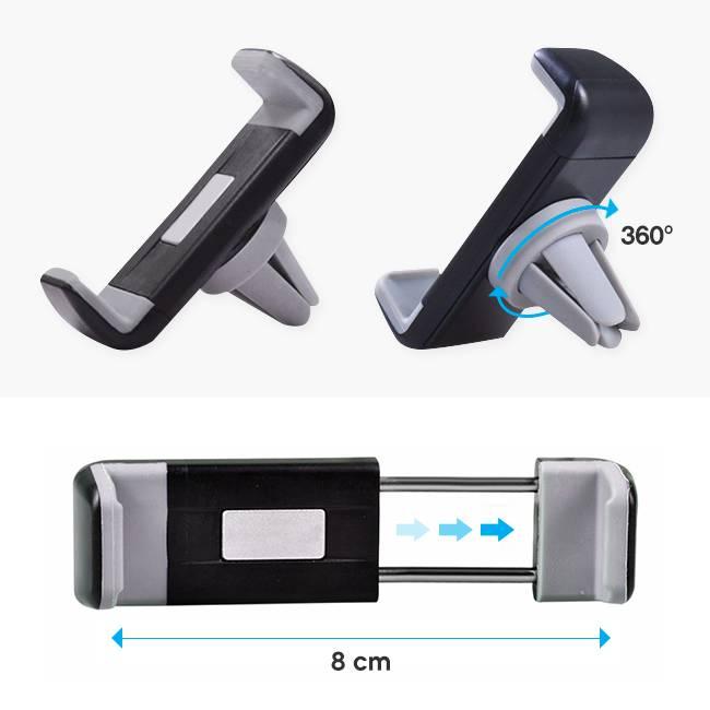 2 pezzi Portabicchieri per Auto,Auto Phone Holder Condizionatore d Aria Vent Mount Adatto per la Maggior Parte per Auto Supporto per Bevande Multifunzionale per Auto Porta Posacenere per Auto
