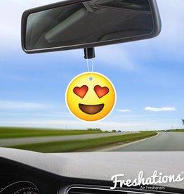 TBU·CAR Air freshener Emoticon - Heart Eyes | Summer