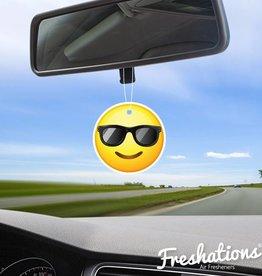 TBU car Air freshener Emoticonn - Sunglasses | New Car