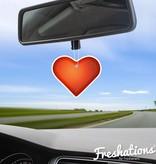 Lufterfrischer von Freshations | Emoticon - Heart | Lavendel