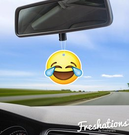 TBU·CAR Air freshener Emoticon - Laughing tears | Fruit Coctail