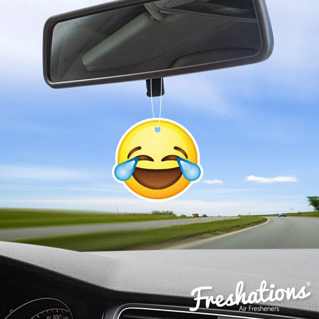 Ambientadores Freshations   Emoticon - Laughing tears   Fruit Coctail