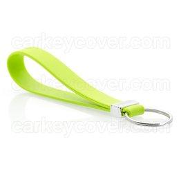 Schlüsselanhänger - Silikon - Lindgrün