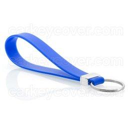 TBU·CAR Schlüsselanhänger - Silikon - Blau