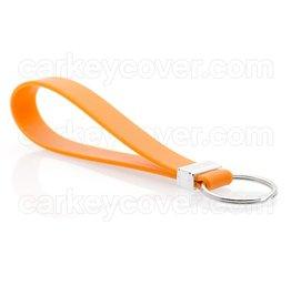 Schlüsselanhänger - Silikon - Orange