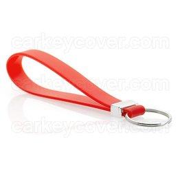 Schlüsselanhänger - Silikon - Rot