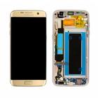 Samsung G935F Galaxy S7 Edge LCD Display Module, Gold, GH97-18533C;GH97-18767C