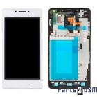 LG Optimus G E975 Internal Screen(LCD) + Touchscreen + Frame White ACQ86366902 | Bulk