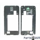 Samsung Galaxy Note III / Note 3 Middenbehuizing incl. Antenne + Luidspreker Zwart GH96-06544A | 5/1