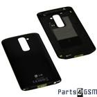 LG Back Cover G2 D802, Black, ACQ86750901