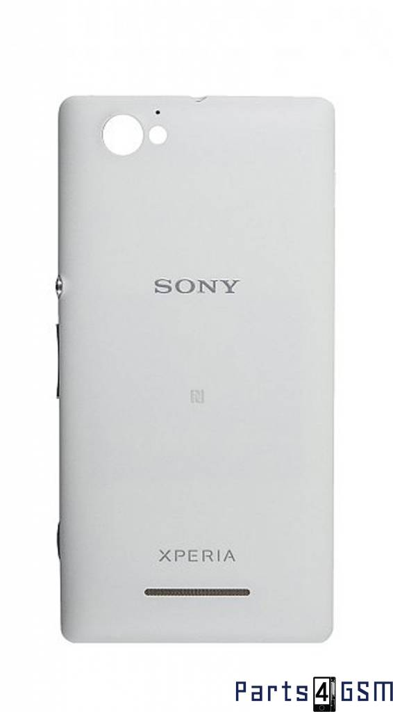 huge discount f6e44 92c30 Sony Xperia M C1905 Back Cover, White, 1272-1742 - Parts4GSM