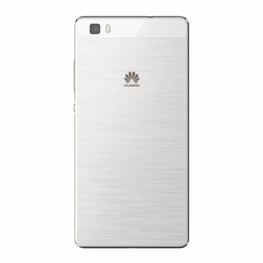 Huawei P8 Lite (ALE-L21) Battery Cover, White, 02350GKS