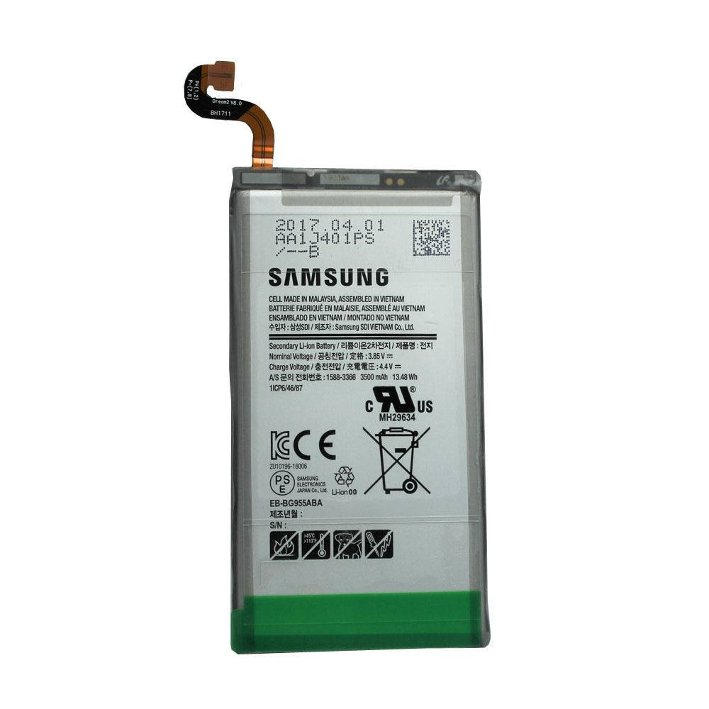 Samsung Battery, EB-BG955ABE, 3500mAh, GH43-04726A;GH82-14656A