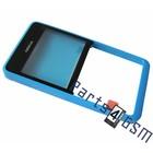 Nokia  Front Cover Frame Asha 210, Blue, 02503G7
