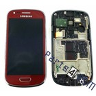 Samsung LCD Display Module Samsung i8200 Galaxy S III Mini VE, Red, GH97-15508F