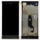 Sony Xperia XA1 G3121 LCD Display Module + Touch Screen Display + Frame, Zwart, 78PA9100020;78PA9100060;78PA9100100