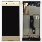 Sony Xperia XA1 G3121 LCD Display Module + Touch Screen Display + Frame, Goud, 78PA9100040;78PA9100120;78PA9100080