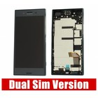 Sony Xperia XZ Premium Dual G8142 LCD Display Module + Touch Screen Display + Frame, Black, 1307-9885