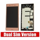 Sony Xperia XZ Premium Dual G8142 LCD Display Module + Touch Screen Display + Frame, Roze, 1307-9888