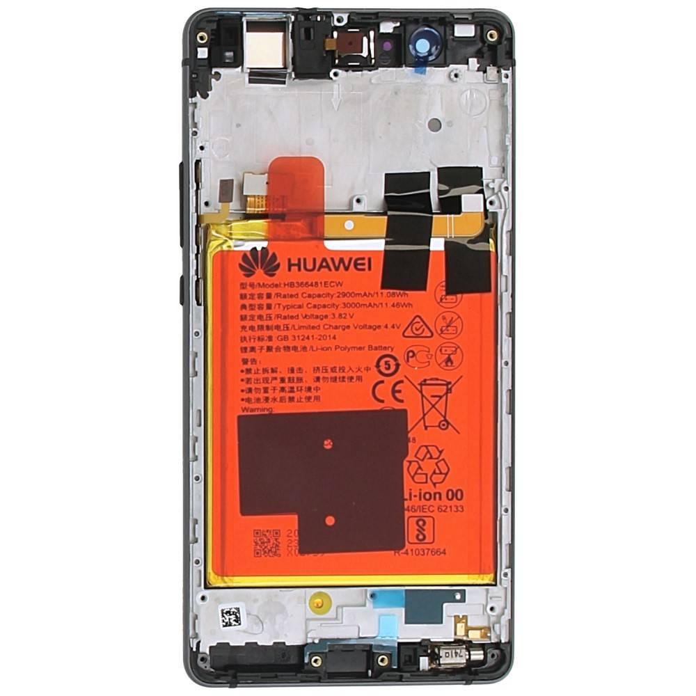 Huawei P9 Lite (VNS-L31) LCD Display Module, Black, 02350TRB