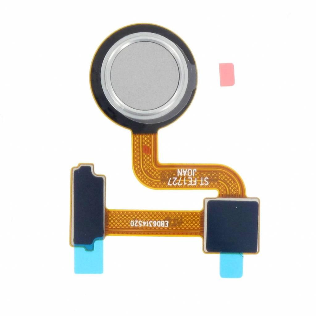 LG H930 V30 Fingerprint Sensor, Silver, EBD63145201 - Parts4GSM