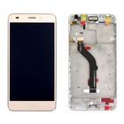 Huawei LCD Display Modul Honor 7 Lite Dual Sim (NEM-L51), Gold, 02350TKC