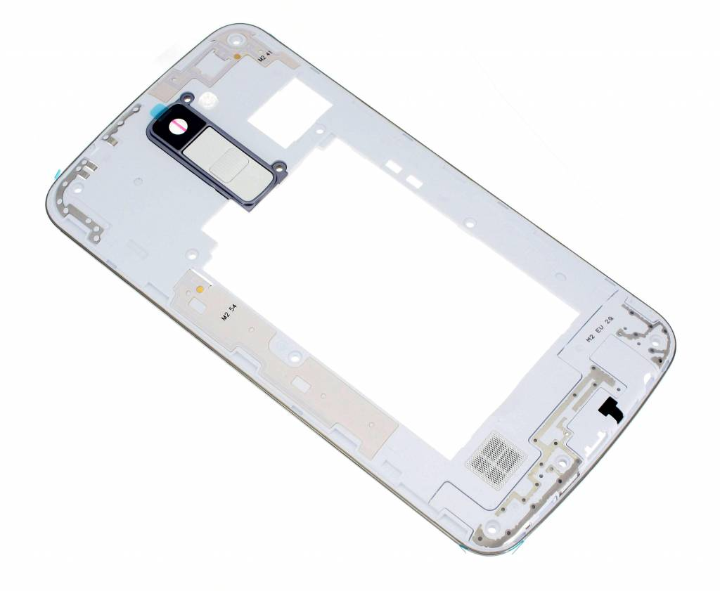 LG K420N K10 Middle Cover, White, ACQ88957001 - Parts4GSM