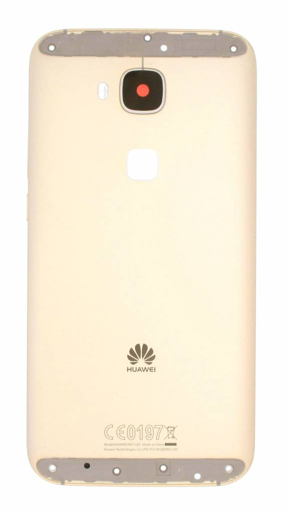 new styles bf6c3 a4fe2 Huawei G8 (RIO-L01) Back Cover, Gold, 02350MXE - Parts4GSM