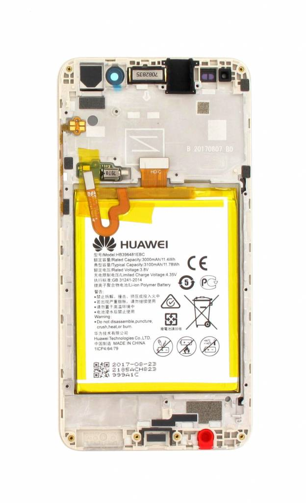 Huawei Y6II (CAM-L21) LCD Display Module, Gold, 02350VUK - Parts4GSM