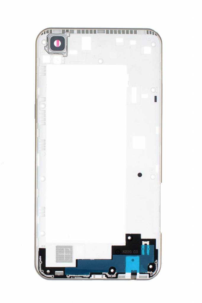 LG K220 X Power White Middle Cover, ACQ88955253 - Parts4GSM