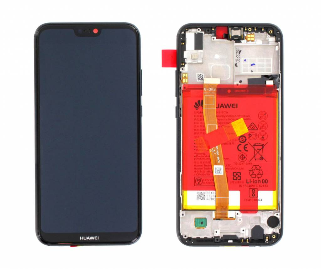 Huawei P20 Lite ANE LX20 LCD Display Module + Touch Screen ...