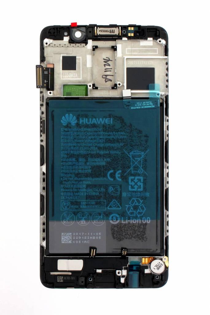 Huawei Mate 9 Pro (LON-L29) LCD Display Module, Black, Incl