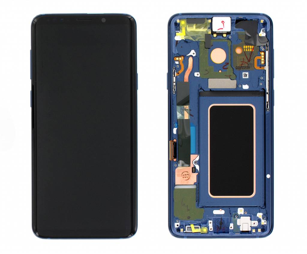 Samsung G965F Galaxy S9+ LCD Display Module, Coral Blue, GH97-21691D
