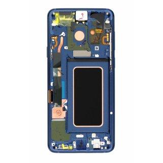 Samsung G965F Galaxy S9+ LCD Display Module, Coral Blue, GH97-21691D