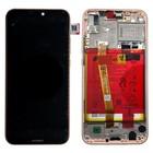 Huawei P20 Lite Dual Sim (ANE-L21) LCD Display Module, Sakura Pink/Roze, Incl. Battery HB366481ECW, 02351VUW;02351XVB