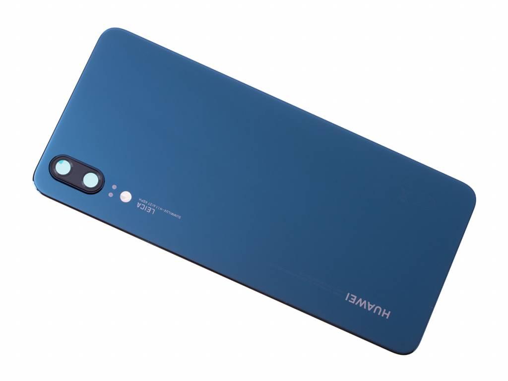 Huawei P20 Dual Sim (EML-L29) Battery Cover, Blue, 02351WKU ...