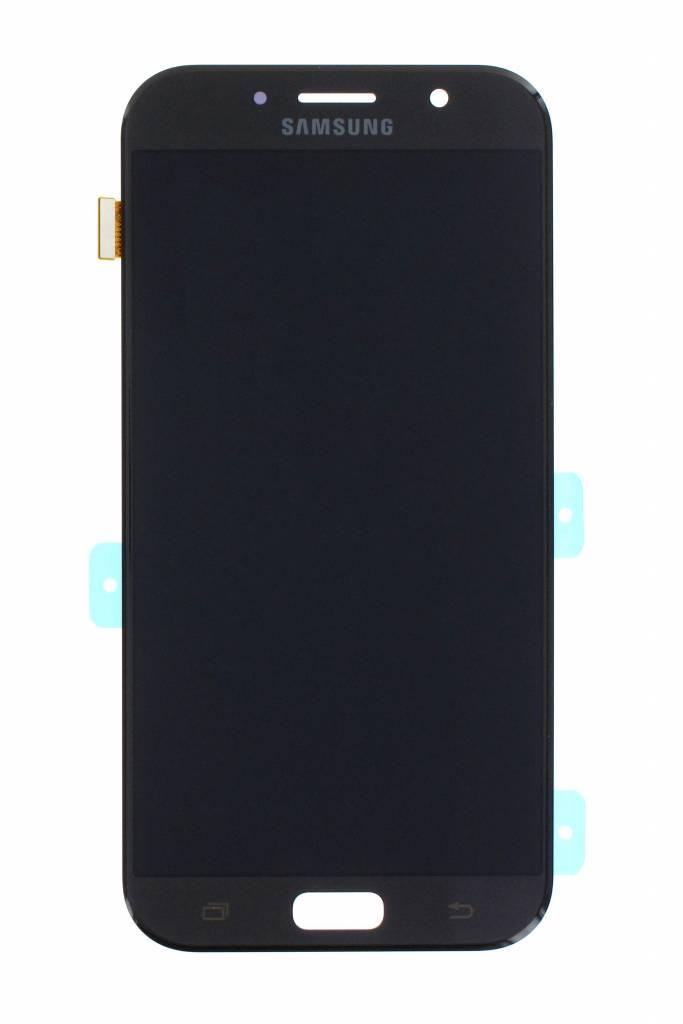 Samsung A720 Galaxy A7 2017 LCD Display Module, Black, GH97