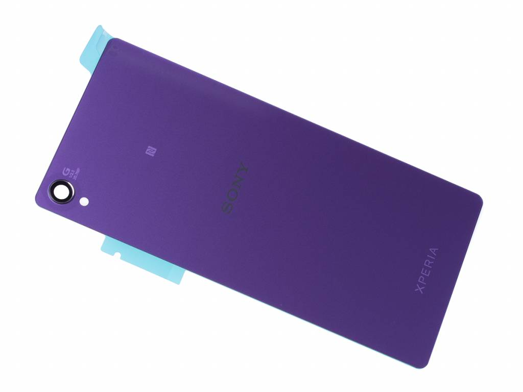 Sony Xperia Z3 D6603 Back Cover Purple 1294 1572 Parts4gsm