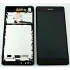 Sony Xperia Z3 Plus Dual E6533 LCD Display Module, Zwart, 1293-8465