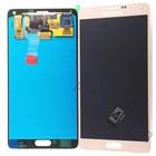 Samsung N910F Galaxy Note 4 LCD Display Module, Gold, GH97-16565C