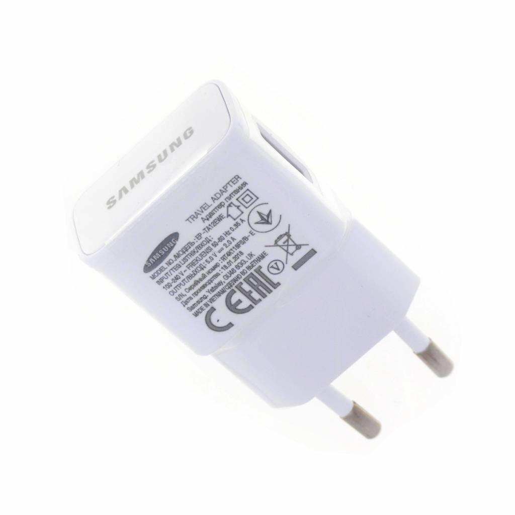 Samsung USB-Charger, EP-TA12EWE, White, 5.0V, 2.0A, GH44-02802A