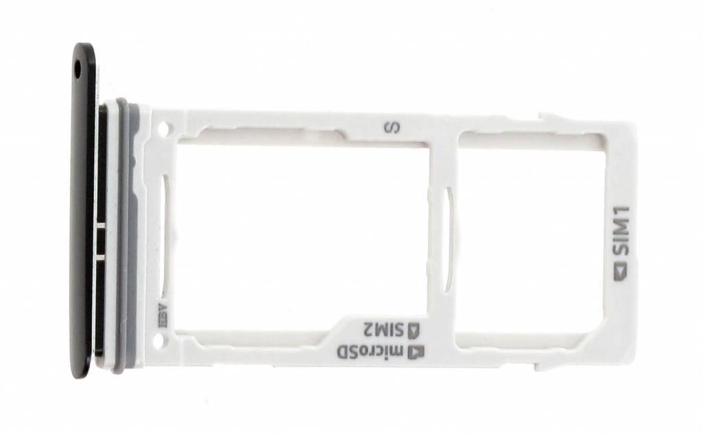 Samsung G960F/DS Galaxy S9 Duos Sim + Memory Card Tray Holder, Black