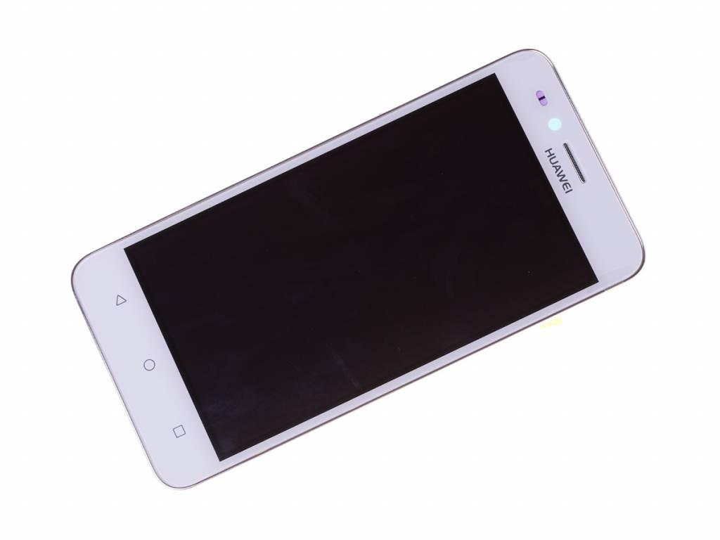 Huawei Y3II 3G (LUA-U22) LCD Display Module, White, 97070NNS - Parts4GSM