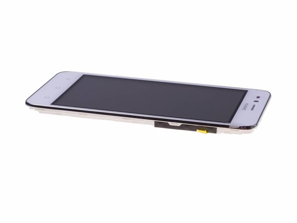 Huawei Y3II 3G (LUA-U22) LCD Display Module, White, 97070NNS