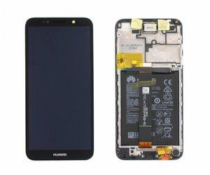 Huawei Y5 2018 (DRA-L02) LCD Display Module, Black, 02351XHU