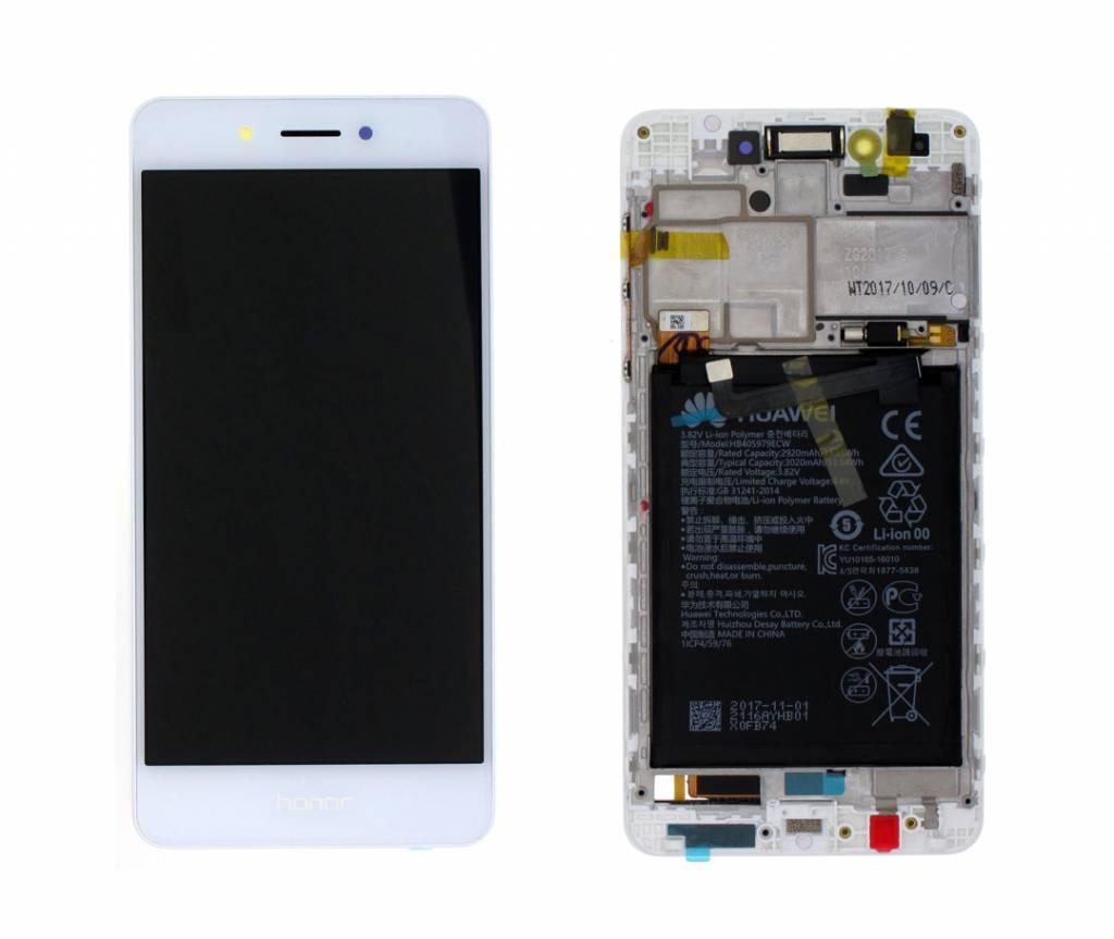 Huawei Honor 6C Dual Sim (DIG-L21HN) LCD Display Module, Gold/Silver