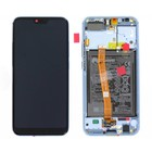 Huawei Honor 10 (COL-L29) LCD Display Module, Grey, Incl. Battery HB396285ECW, 02351XAE
