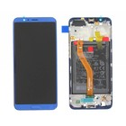 Huawei Honor View 10 (BKL-L09) LCD Display Module, Aurora Blue, Incl. Battery HB386589ECW, 02351SXB